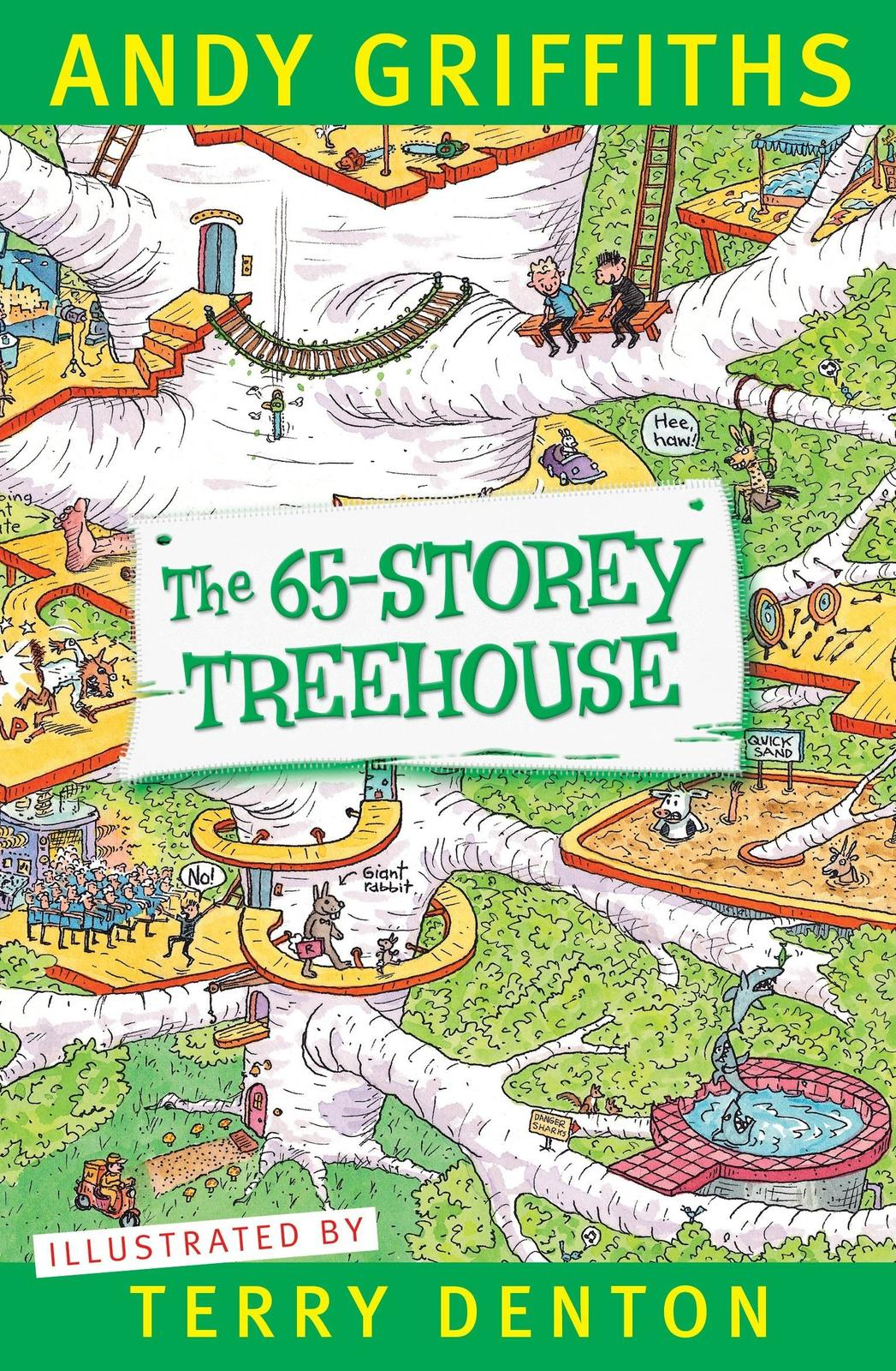 The 65-Storey Treehouse Book Cover