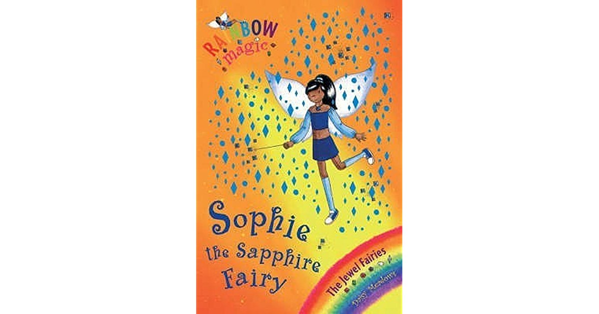 Sophie the Sapphire Fairy Book Cover