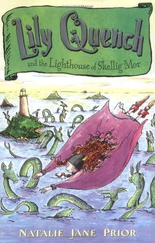 Lily Quench and the Lighthouse of Skellig Mor Book Cover