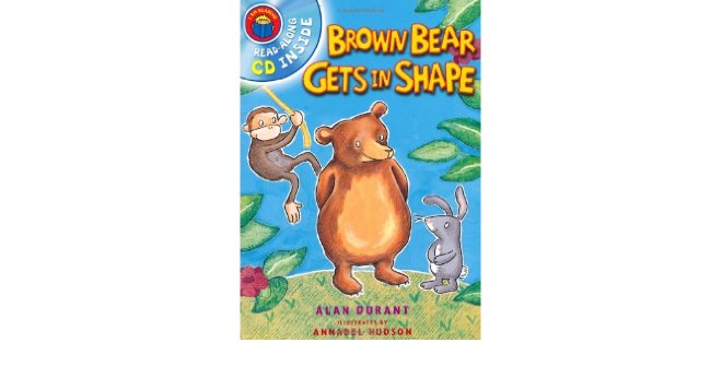 Brown Bear Gets in Shape Book Cover