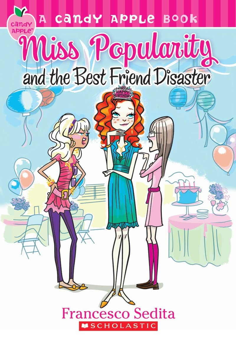 Miss Popularity and the Best Friend Disaster Book Cover