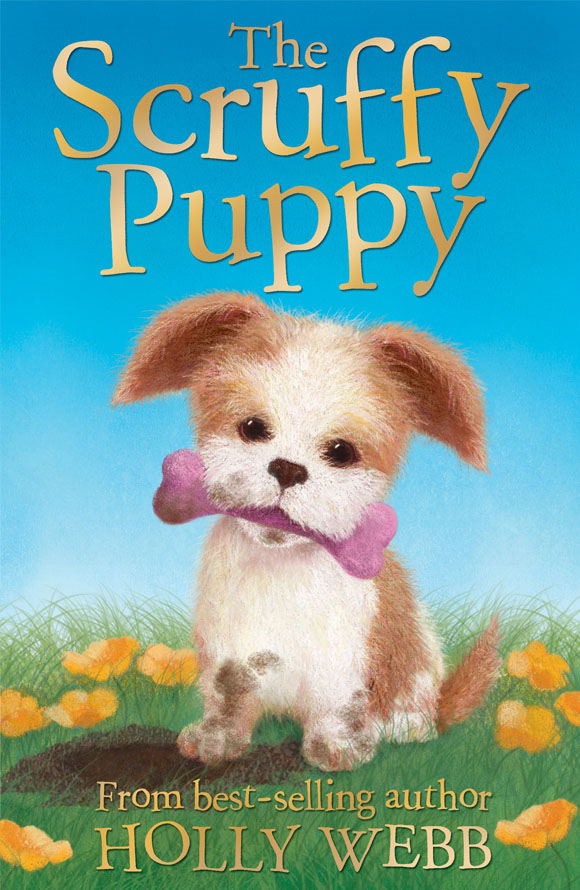 The Scruffy Puppy Book Cover