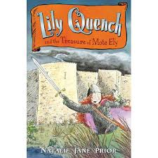 Lily Quench and the Treasure of Mote Ely Book Cover