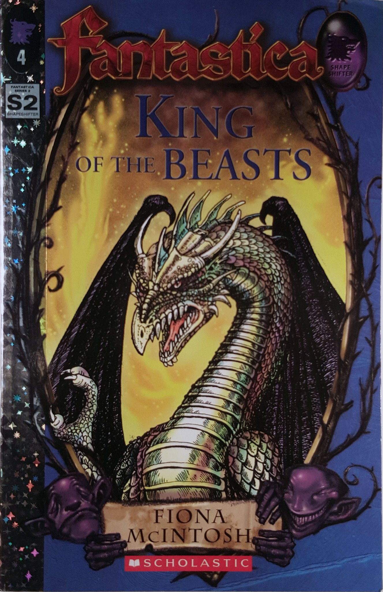The King of the Beasts Book Cover