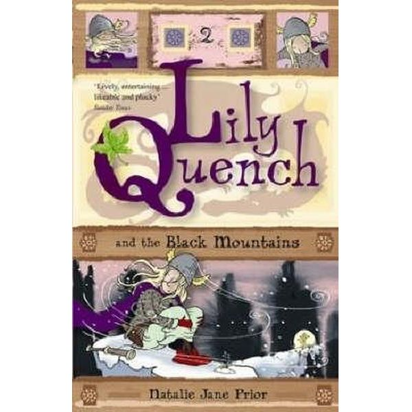 Lily Quench and the Black Mountains Book Cover