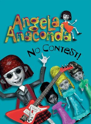 Angela Anaconda Book Cover