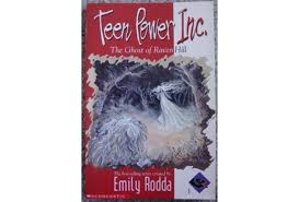 Teen Power Inc The Ghost of Raven Hill Book Cover