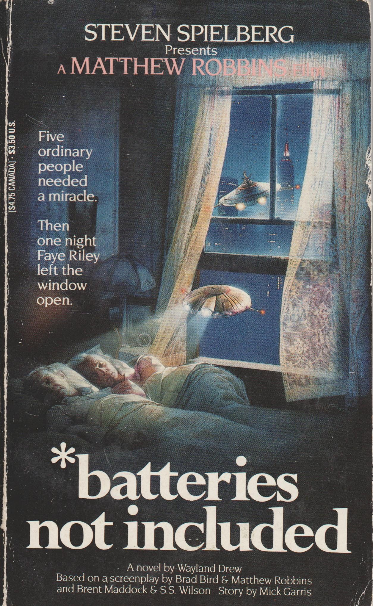 Batteries not included Book Cover
