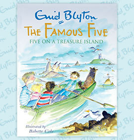 Five on a Treasure Island Book Cover