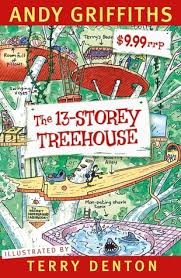 13 story treehouse Book Cover