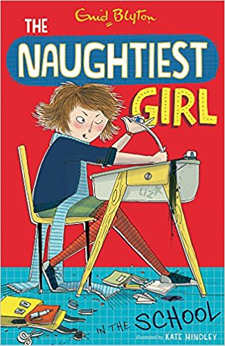 The Naughtiest Girl in the School Book Cover