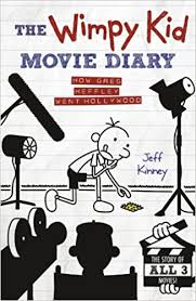The Wimpy Kid Movie Diary Book Cover